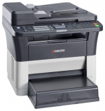 МФУ лазерное Kyocera FS-1120MFP (А4, 20 ppm, 1200dpi, 64Mb, USB)