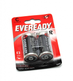 Батарейка Eveready R14 BL-2 блистер 2шт/уп